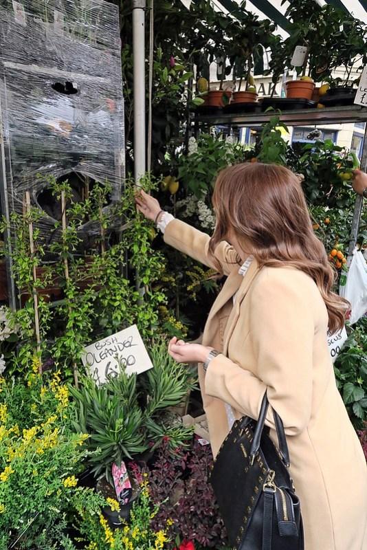 Wanderlust Us Travel Blog - Columbia Road Flower Market