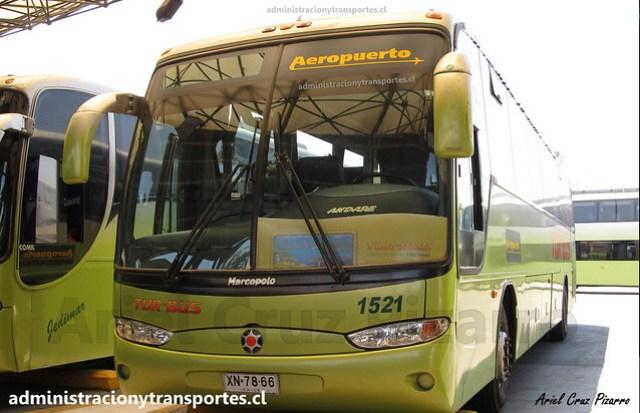 Tur Bus Aeropuerto (2012) | Santiago | Marcopolo Andare Class - Mercedes Benz / XN7866 - 1521