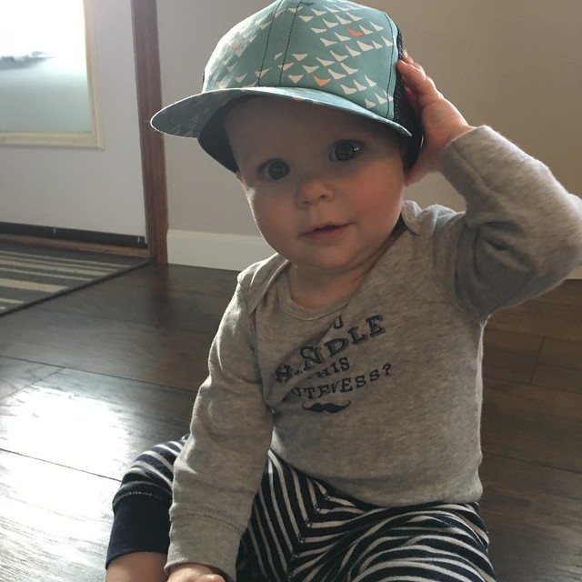 052d50e420441 How cute is this hat  I have been looking for something high and low to  help with Ollie s blonde bald head this summer and could not wait to share  with you ...