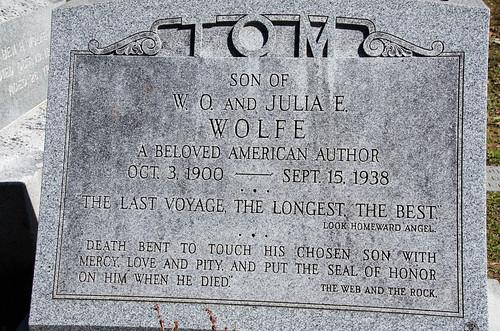 Thomas Wolfe Grave