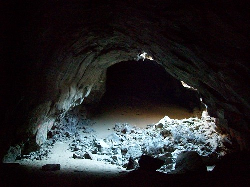 Under The Collapsed Skylight At Pluto S Cave A Lava Tube