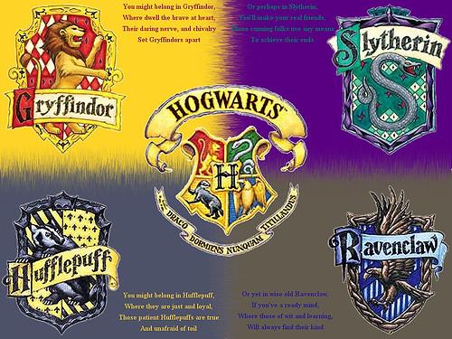 Hogwarts Houses 2 Joann Dunkel Flickr