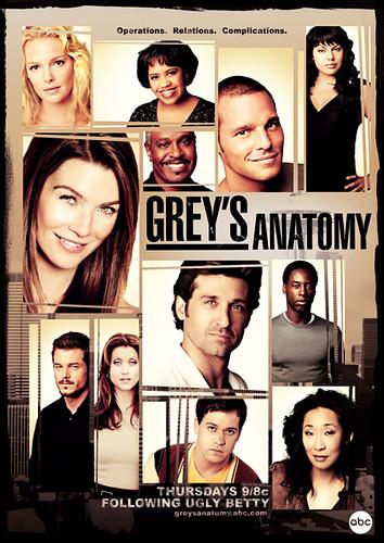 Grey's Anatomy: Season 3 | Promotional poster advertising ...