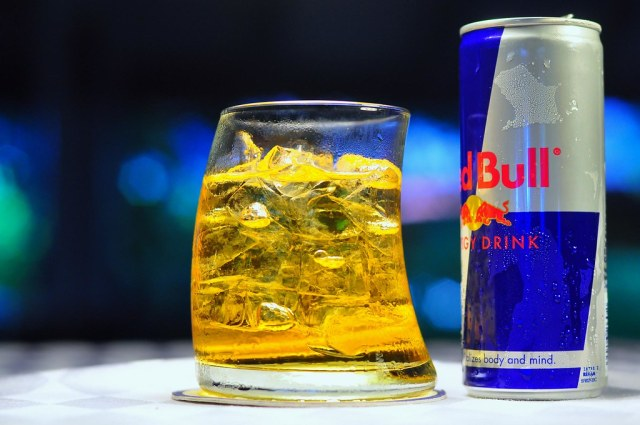 Image result for red bull drink in glass