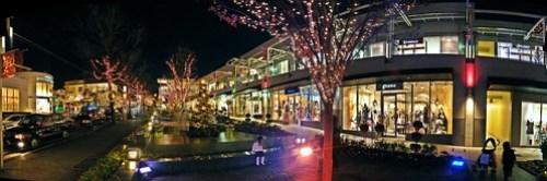 Hoshigaoka Terrace - west wing - night