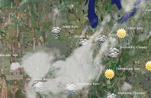 HD Decor Images » Twitter Weather Map Mashup   Last Thursday I did a mashup wi      Flickr     Twitter Weather Map Mashup   by Walter Rafelsberger