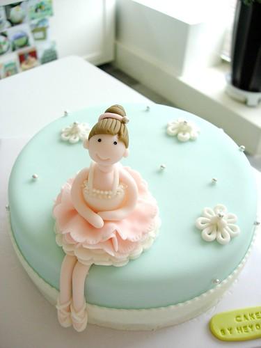 Ballerina Cake Cake For A Girlfriend Who Is A Ballerina
