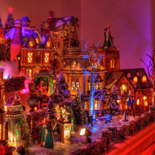 Dicken's Village at Night