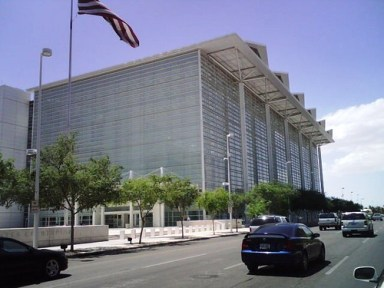 Sandra Day O'Connor courthouse in her glory