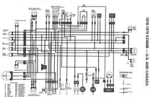 197879 KZ400 stock_wiring_diagram | Original Stock Wiring D… | Flickr
