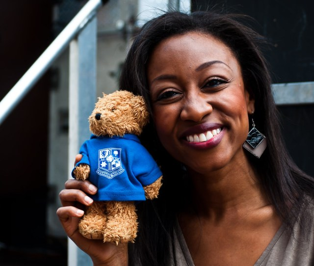 Beverley Knight And Tranny Bear By Eric The Fish 2018