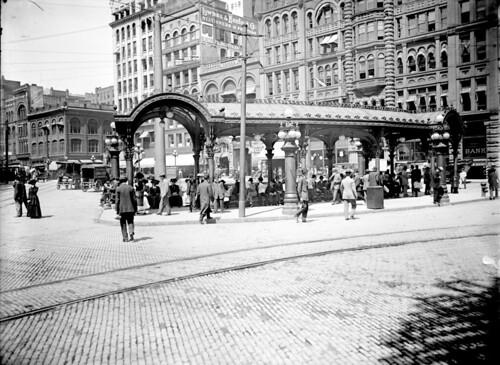 Pioneer Square Pergola 1910 The Pioneer Square Pergola
