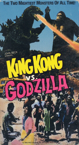 Image result for king kong v godzilla