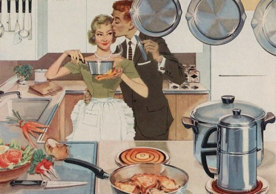 1950's housewife style