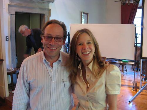IMG5360 Lawrence Krauss And Delia Schwartz Perlov