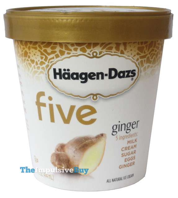 Haagen Dazs Five Ginger