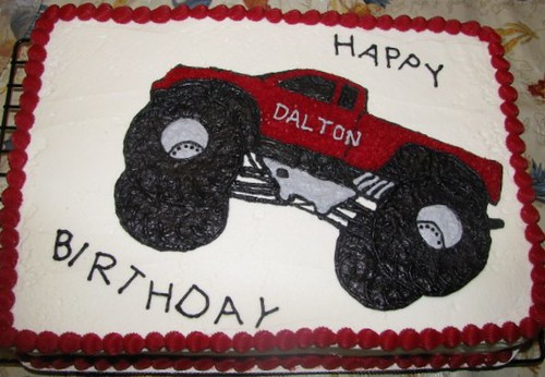 2d Monster Truck Cake Monster Truck Cake I Made With A