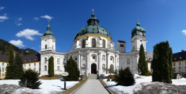 Image result for Benedictine Abbey at Ettal