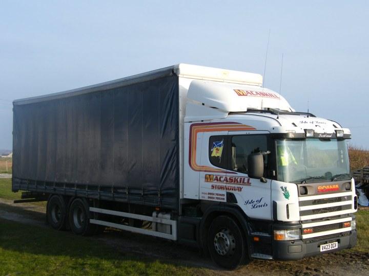 Scania Curtainsider By Donalduist