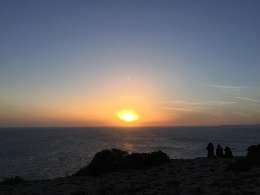 Atardecer en Cabo Blanco