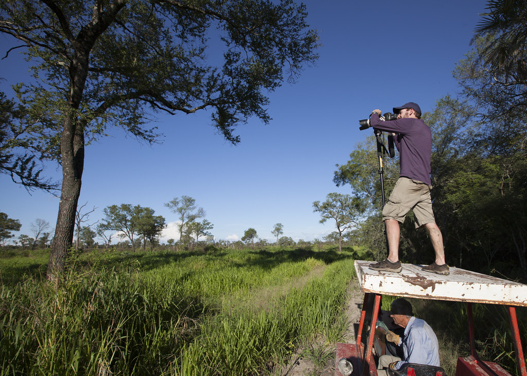 Shooting video in the Chaco