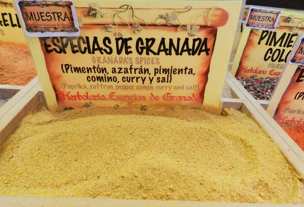 Granada tienda de especias 13