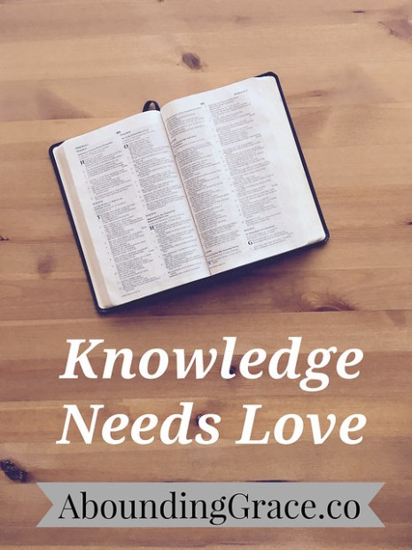 Knowledge Needs Love
