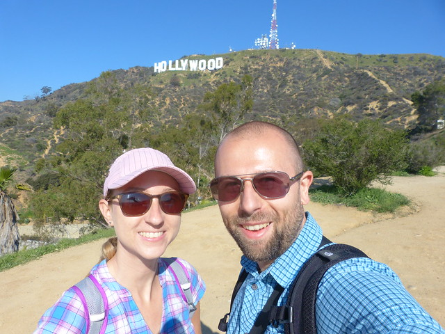 Roadtrip from L.A.to Las Vegas: Hi Hollywood sign!