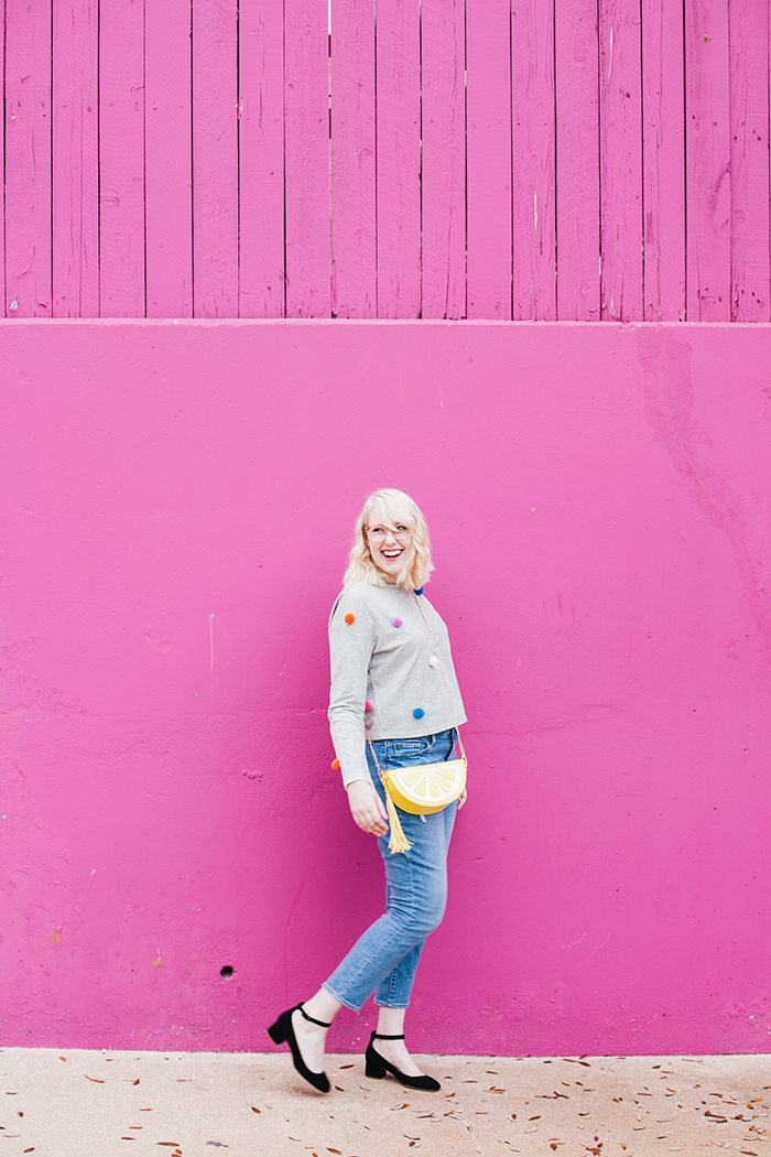 austin fashion blogger pom pom sweater20