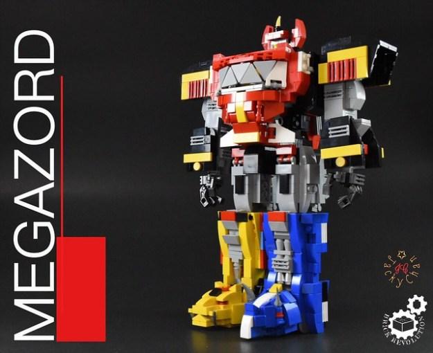 Initiate Megazord sequence! Amazing LEGO Power Rangers Megazord is ...