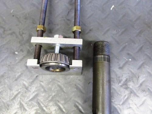 Lower Steering Stem Bearing Race Removed