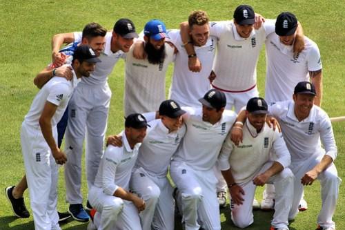 England Cricket Team - The Ashes Trent Bridge 2015