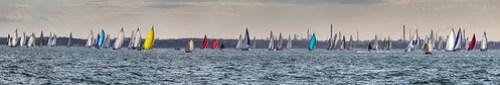 Rainbow Panorama - 2013 Round the Island Race