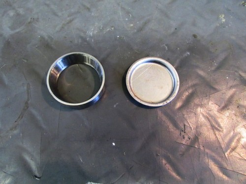 Old Outer Race for Driving New Outer Race and Left Side Grease Cap