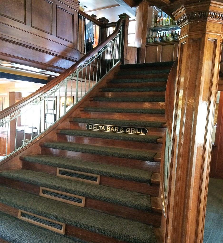 Delta King Staircase