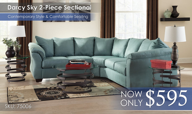 Darcy Sky Sectional 75006-55-56-T408
