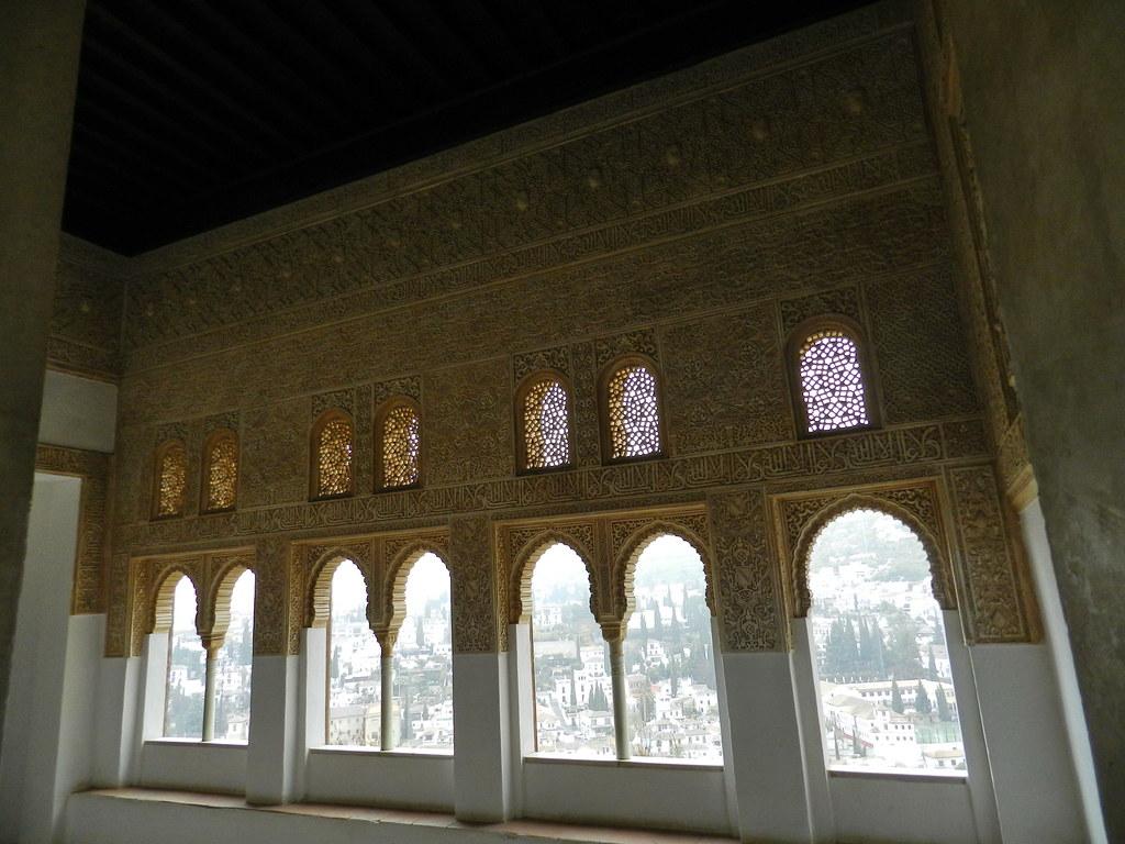 Granada La Alhambra palacios nazaries 12