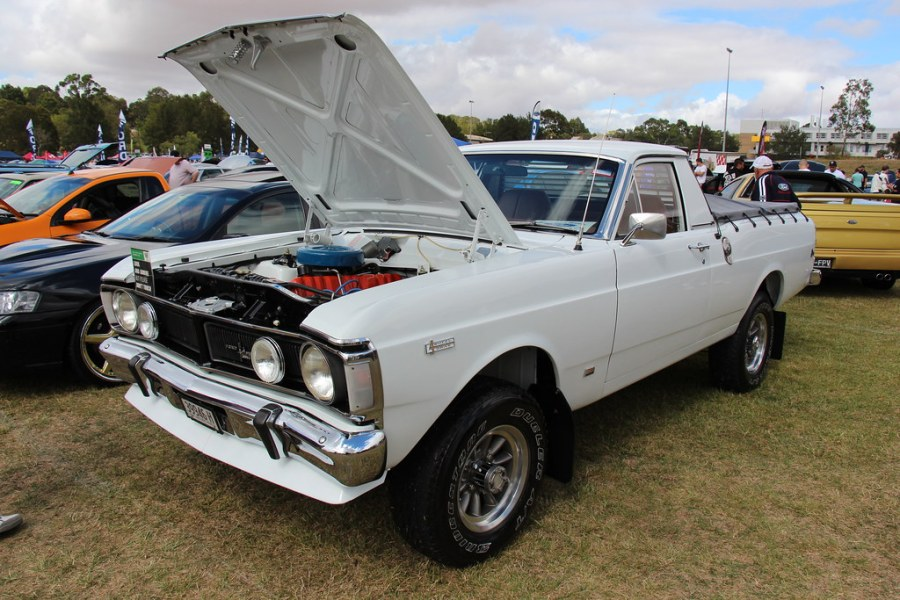 1972 ford cars » 1972 Ford Falcon XY 4X4 Utility   Ultra White  The XY Falcon      Flickr     1972 Ford Falcon XY 4X4 Utility   by Sicnag