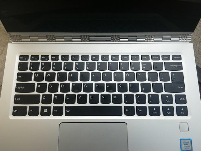 Lenovo Yoga 910 - Keyboard