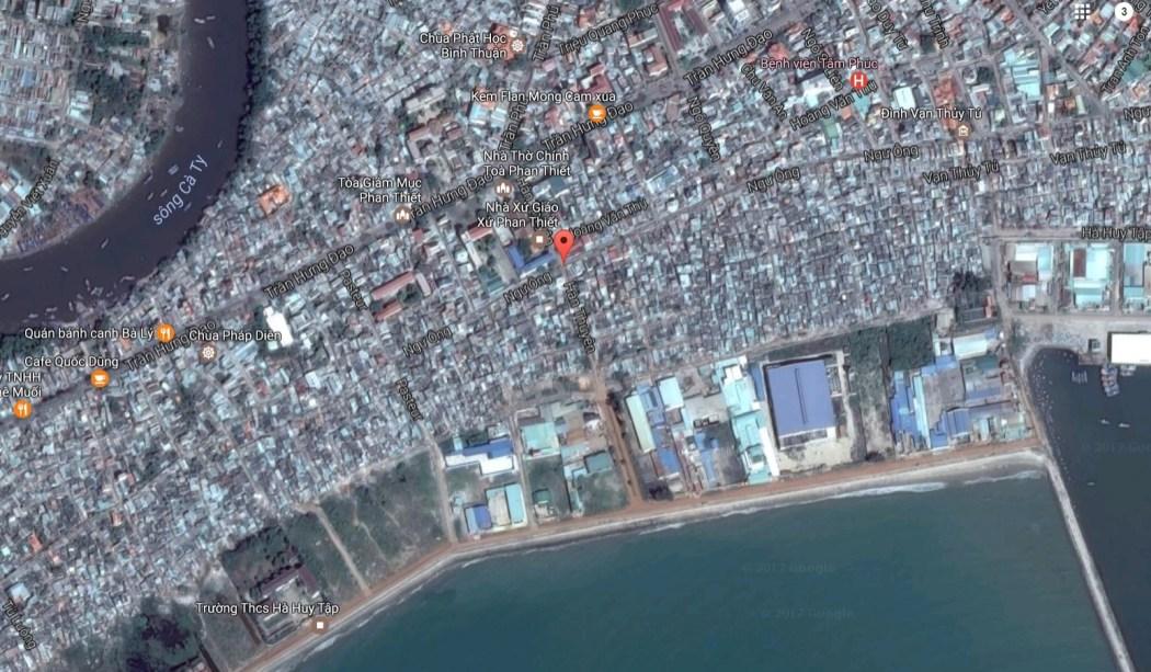 Dự án đất nền Phan Thiết, cách TP Hồ Chí Minh 183km về hướng Đông Bắc, với gần 3h đi