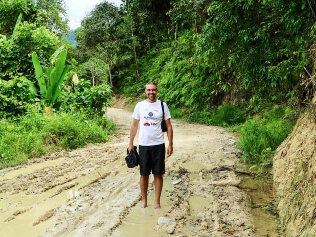 Sendero Cascada Pamuayan