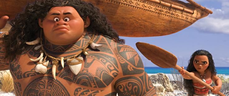 Vaiana ja Maui