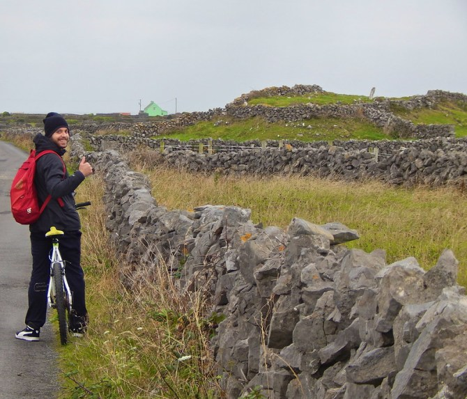 Cycling Inishmore