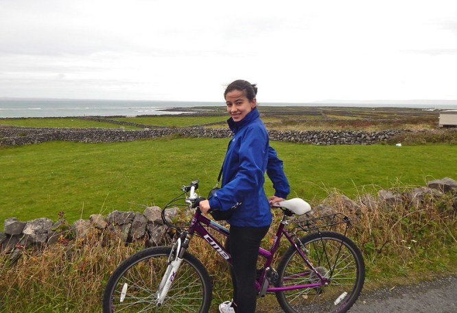 Cycling in Inishmore