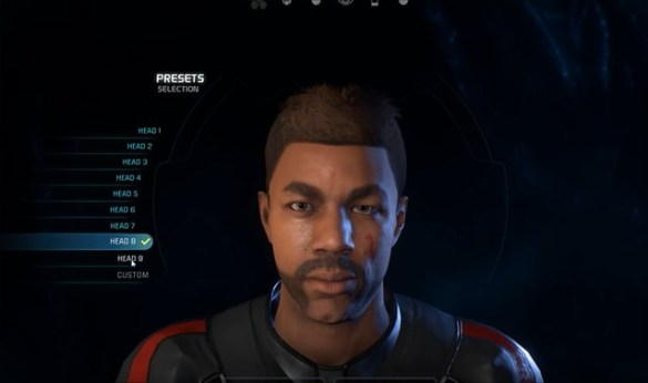 Mass Effect Andromeda - Male Head 8