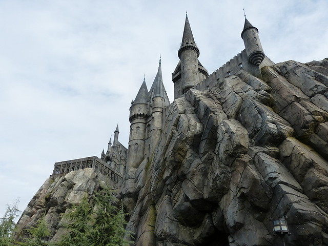 Roadtrip from L.A. to Las Vegas: Hogwarts at Universal Studios