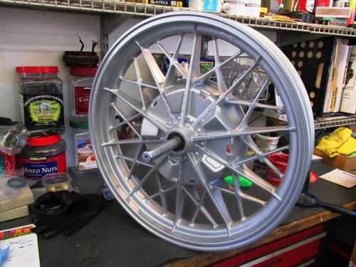 Rear Wheel Ready To Roll