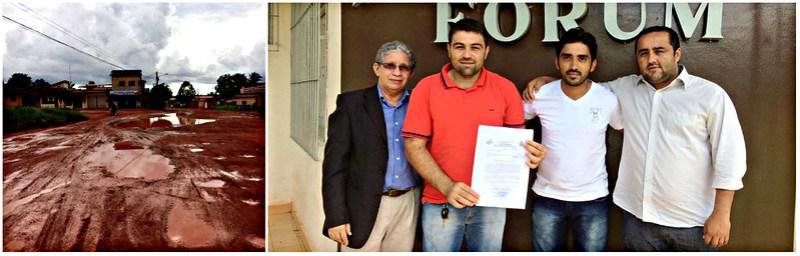 Câmara de Rurópolis pede liberação da avenida mais importante da cidade, Rurópolis - avenida Brasil e vereadores