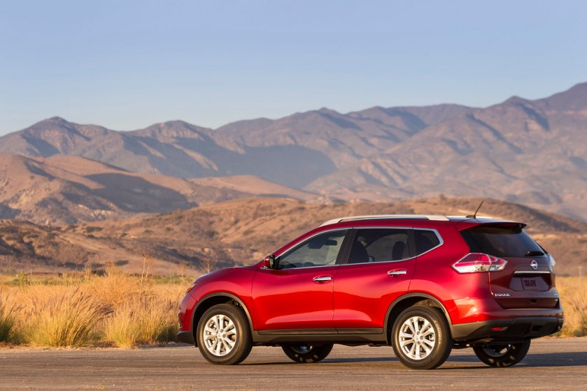 Image result for red nissan rogue