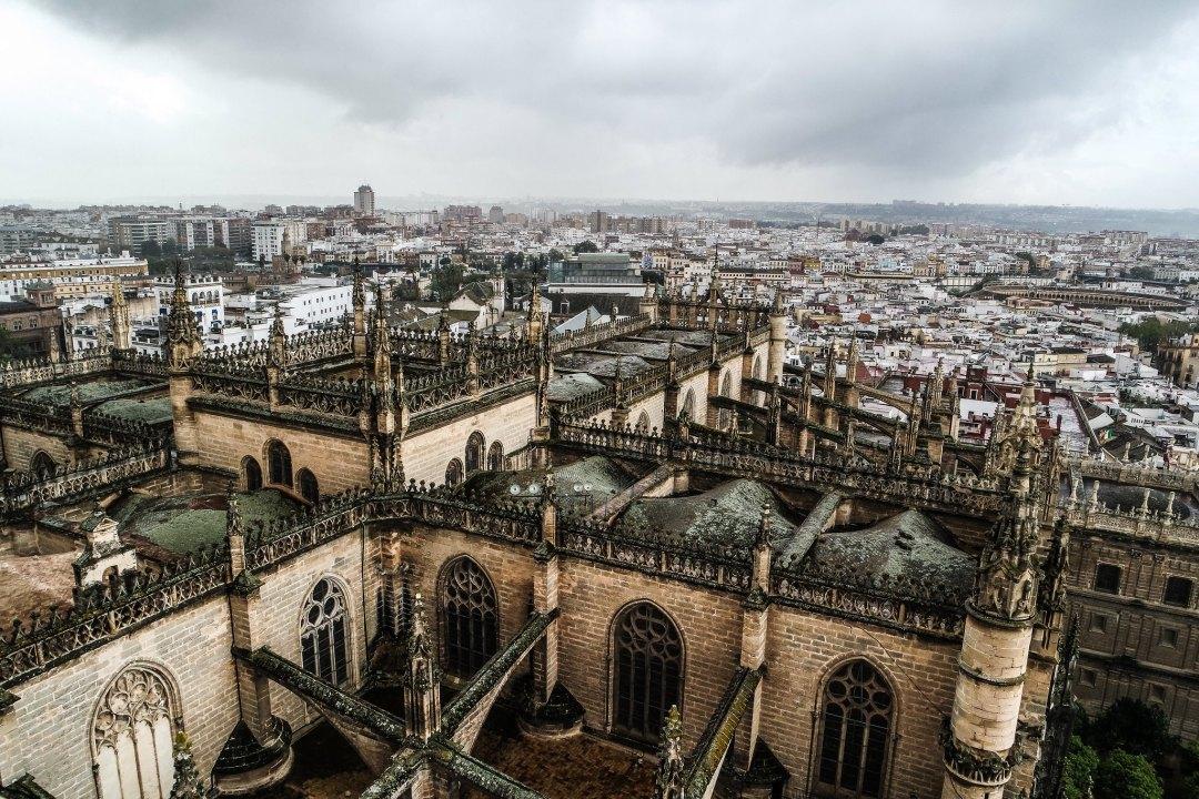 Panorama dalla Giralda (Siviglia)